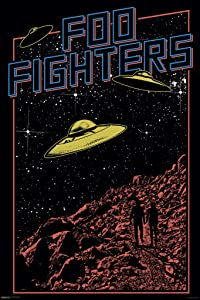 Pyramid America Foo Fighters UFO Music Cool Wall Decor Art Print Poster 24x36