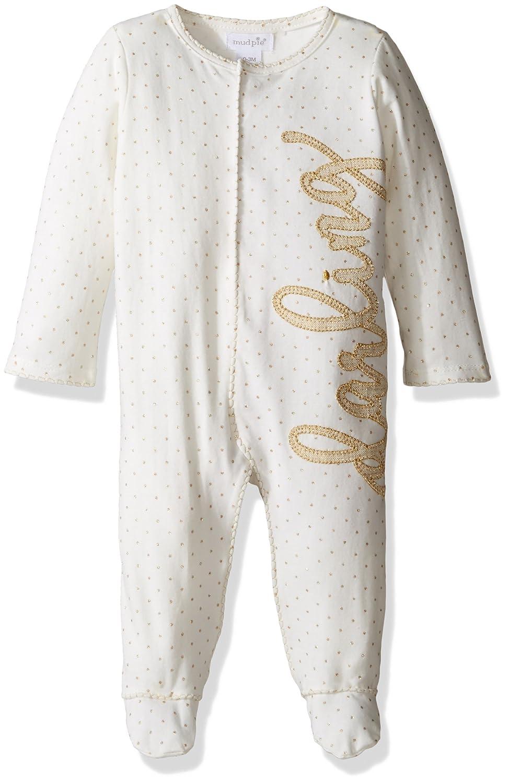 ea8123bfeb Amazon.com  Mud Pie Baby Girls  One Piece Footed Sleeper