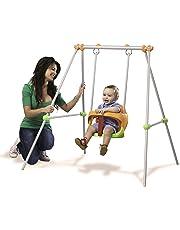 Smoby- Baby Swing Columpio bebé, 120 x 124 x 120 cm (310046)