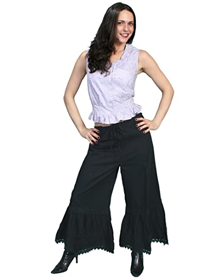 Steampunk Women's Pants, Leggings & Bloomers Bloomers Black or Red  AT vintagedancer.com