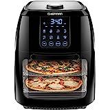 Chefman 6.3 Quart Digital Air Fryer+ Rotisserie, Dehydrator, Convection Oven, 8 Touch Screen Presets Fry, Roast, Dehydrate &
