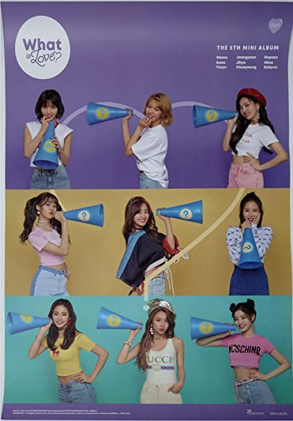 Amazon com: JYP Entertainment Twice - What is Love? Official
