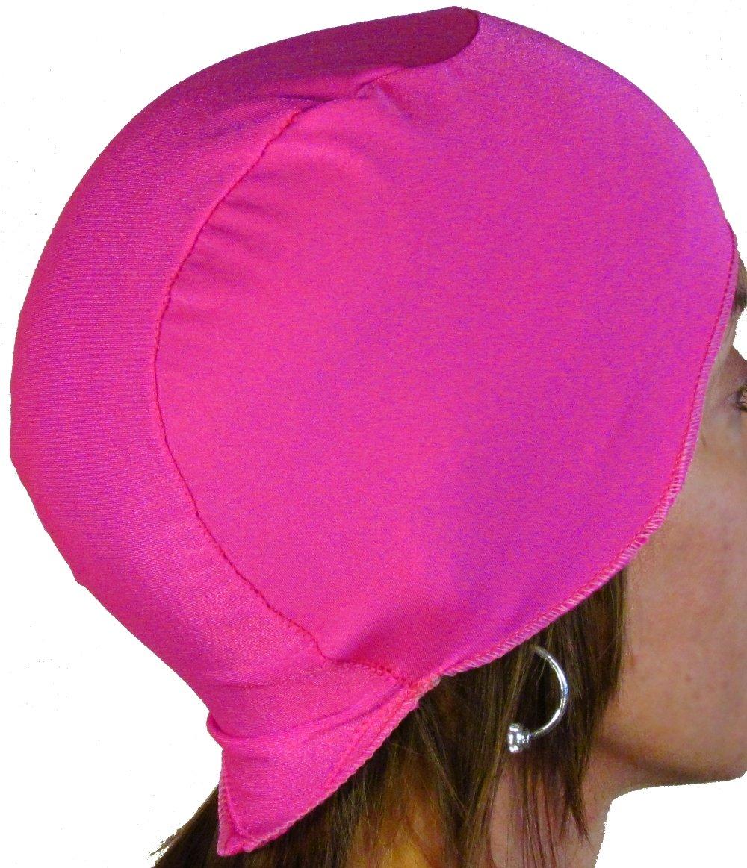 WickIt! ™ Motorcycle Helmet Liner - Skull Cap - Doo Rag in Pink