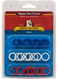 Happy Hen Treats Spiral Leg Bands for Pets, Size 9