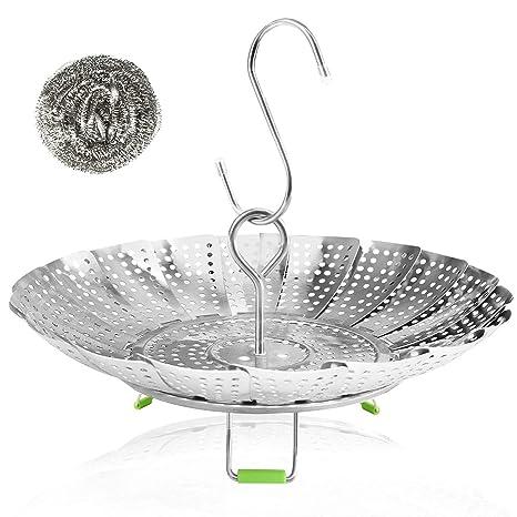 Amazon.com: Consevisen - Cesta para cocinar al vapor de ...