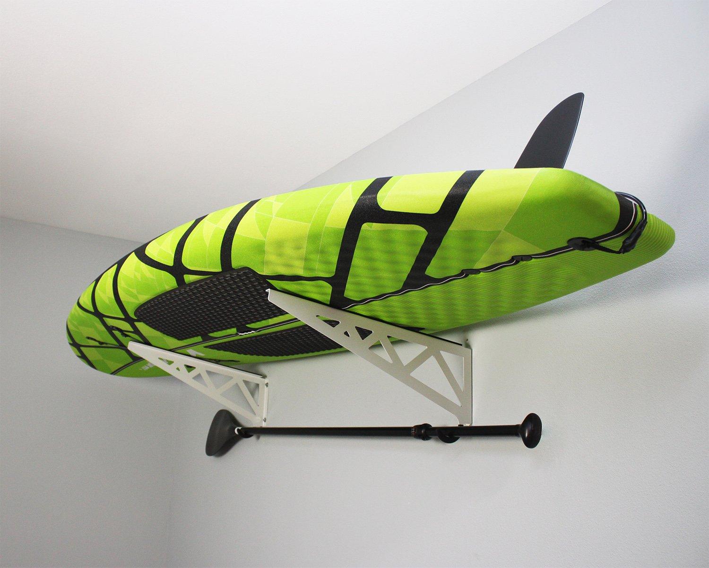 SafeRacks Paddleboard Rack - White (24'')