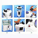 Traumer Fish Tank Canister Filter, Professional 200 Gallon Aquarium Fish Tank External Canister Filter & Media Kits Self Priming with 4 Stage Filtration