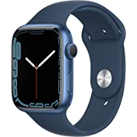 $429 » Apple Watch Series7 GPS, 45mm Blue Aluminum Case with Abyss Blue Sport Band…