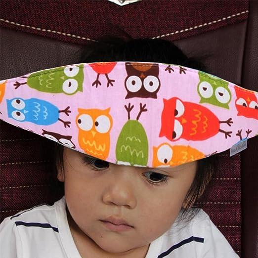 Toddler Head Support Band Holder Protector Belt For Car Seat Neck Relief Strap Safety Stroller