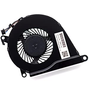 Deal4GO CPU Cooling Fan NS75B00-15K10 Replacement for HP Omen 15-AX 15-AX000 15-AX100 15-AX200 TPN-Q173 Pavilion 15-BC 858970-001
