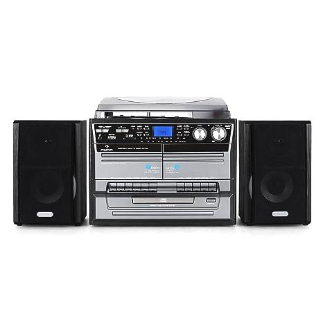 Auna TC-386WE - Lector de CD para equipo de audio, negro