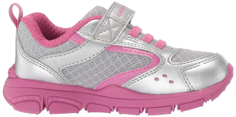 Geox Kids New Torque Girl 3 Sp Velcro Sneaker