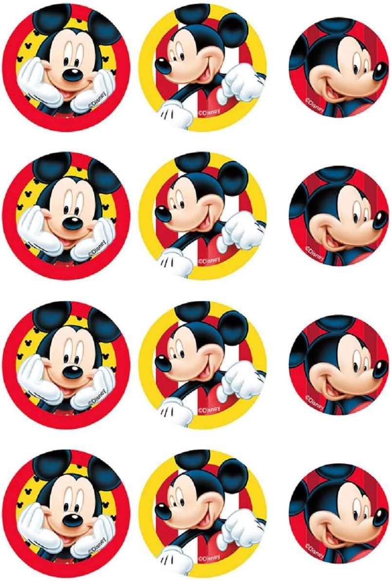 Cartoni Animati Mini Cialda A4 Personalizzata Decorazione Dolce idea Mini CIALDA in Ostia Topolino Form