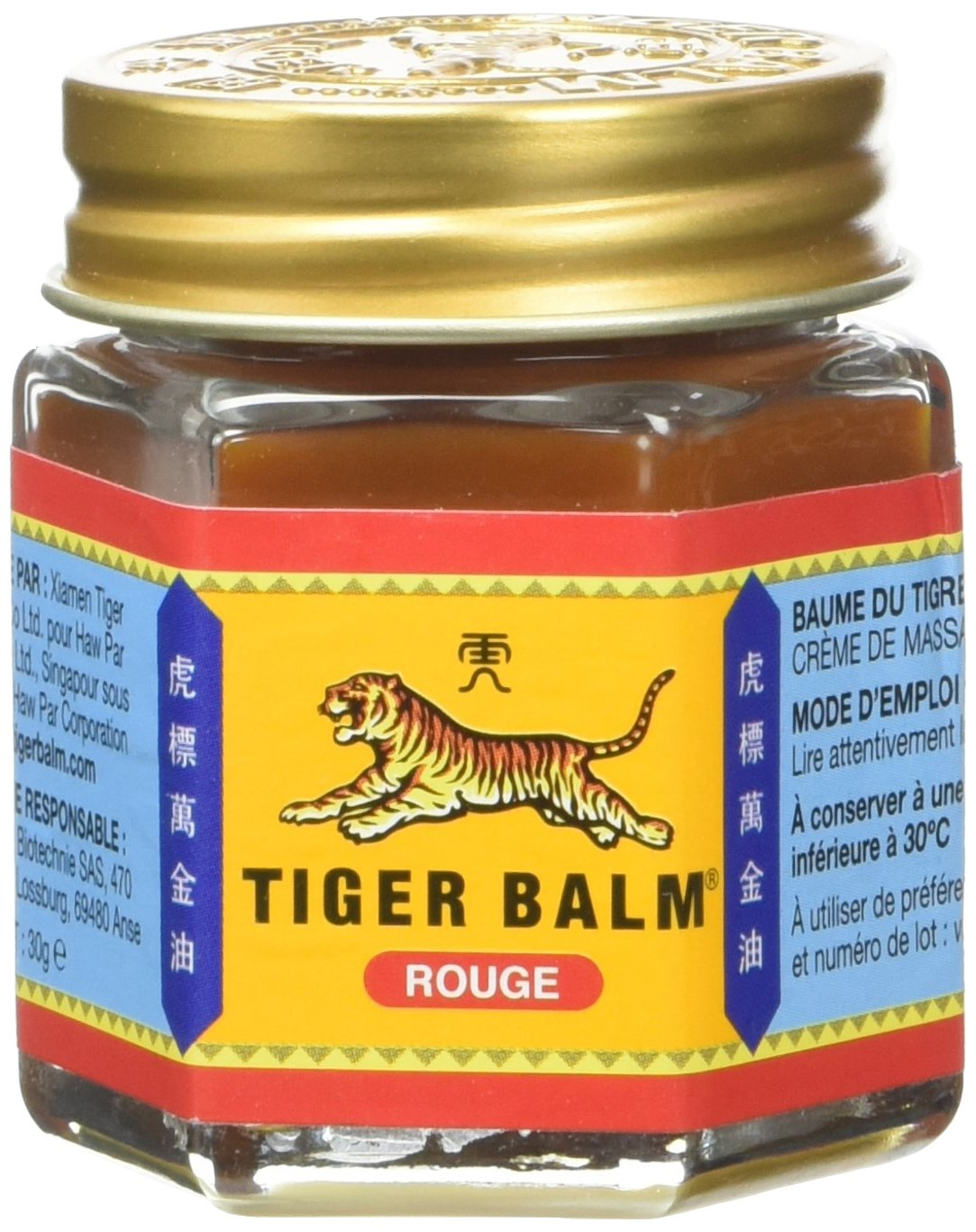 Tiger Balm Red 1.05ounces (30g) (Pain Relief) - NaturalBalm 16744