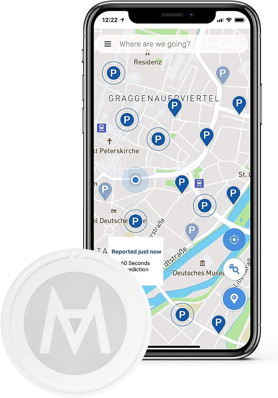 Inklusive Navigation und automatischer Erinnerungsfunktion f/ür Parkplatzbezahlung Stressfrei Auto /& Parkplatz Finden GPS Tracker f/ür Parkplatzsuche und Fahrzeugortung ALMOdot GPS Finder