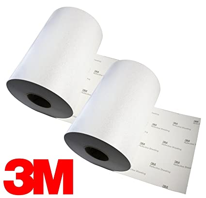 image relating to 3m Printable Vinyl identified as 3M Reflective White Silver Adhesive Craft Vinyl Sheet 12\