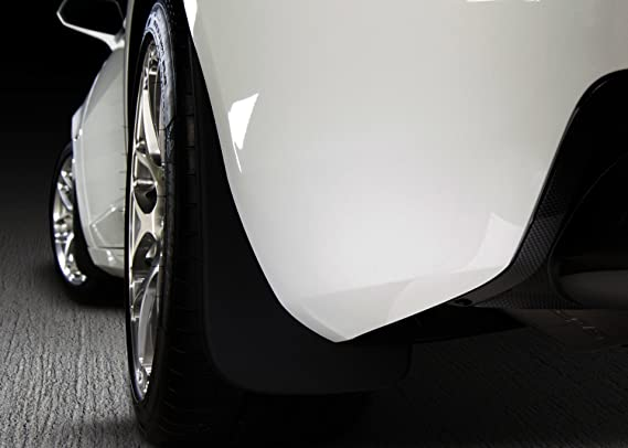 Husky Liners 57141 Rear Mud Flaps Black For 07-17 Jeep Wrangler Standard Bumper