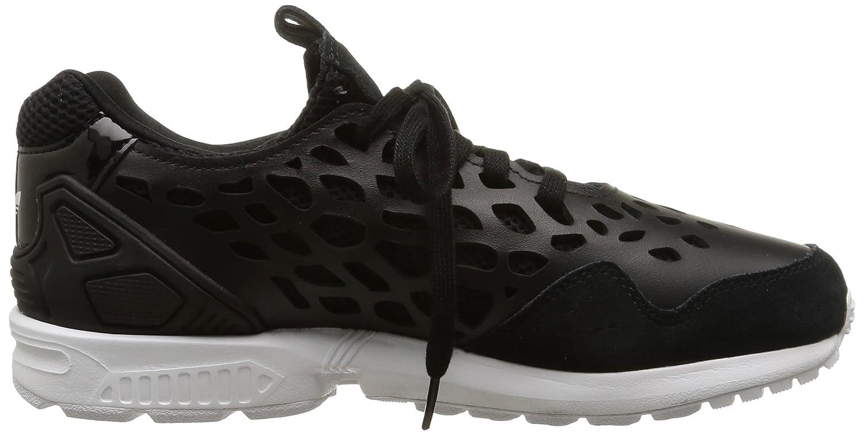 Adidas ZX Flux Lace W - para Hombre, Core Black/Core Black/FTWR White, Talla 36.7 adidas