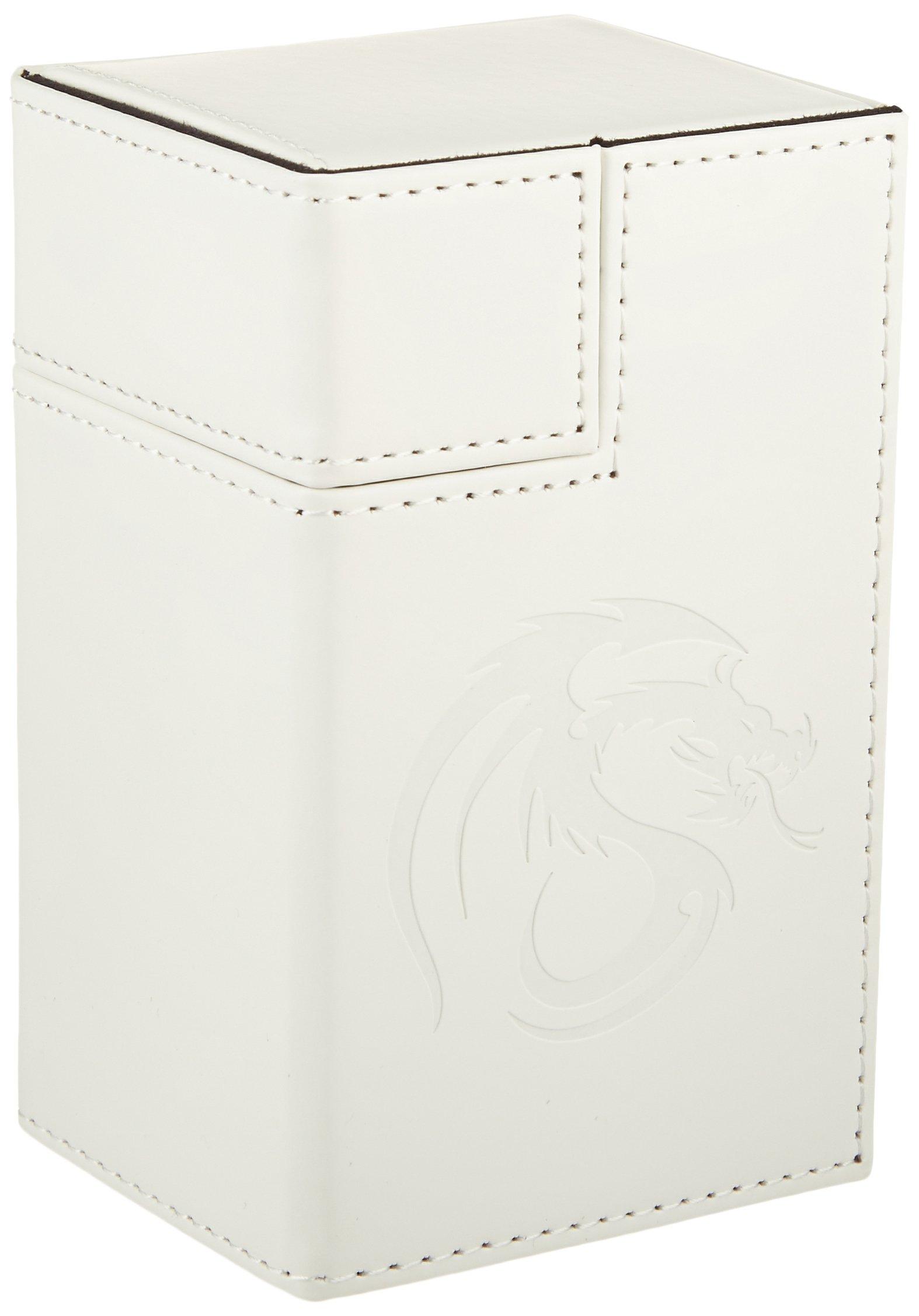 BCW 1-DCLK-LX-WHI Gaming Deck Locker, LX White by BCW