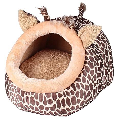 Cama cueva para mascotas de la marca ZuckerTi, para gatos, perros y otros animales