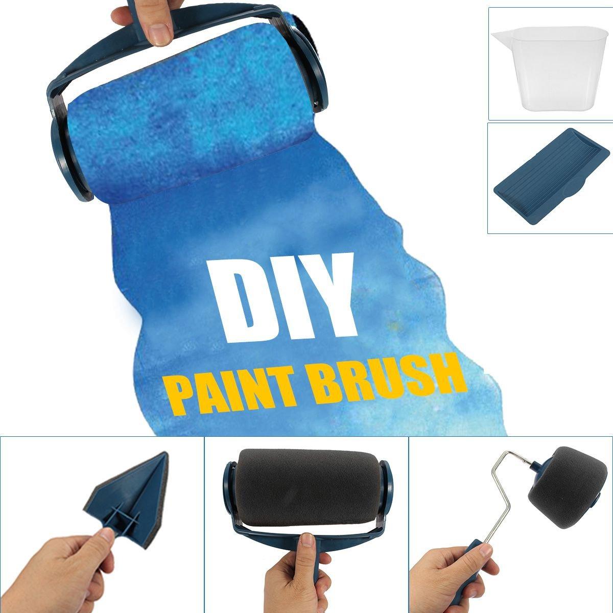 rouleau peinture avec reservoir mejoy rouleau de peinture kit d 39 outils pour ebay. Black Bedroom Furniture Sets. Home Design Ideas