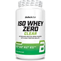 BioTechUSA Iso Whey Zero Clear, Flavored sugar-, fat-, lactose- and gluten-free protein drink with whey protein isolate…