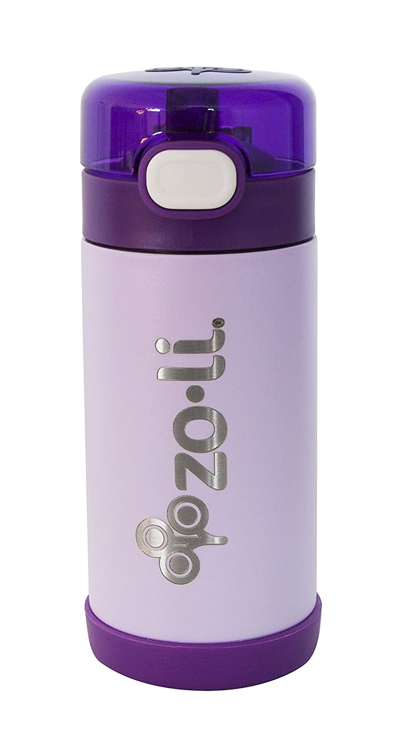 ZOLI INC Bottle Insulated Ss 10 Oz Purple, 1 Each A-BF17PSRR01