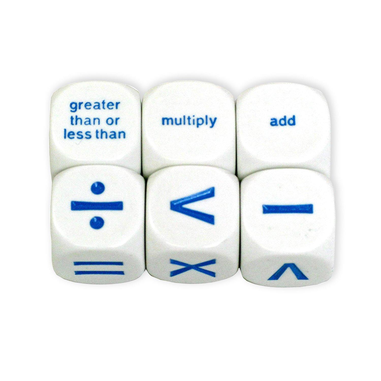 Koplow Games Math Operation Dice Set Classroom Accessories