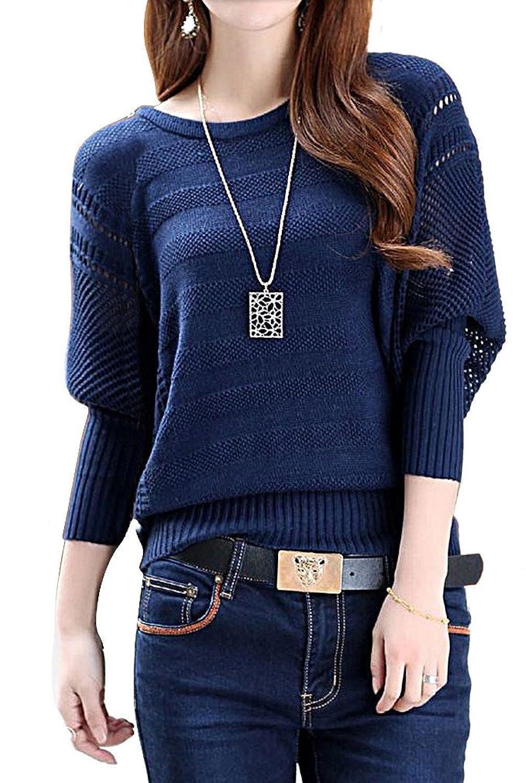 Women's Stylish Sweater Trendy Pullover Dress S24