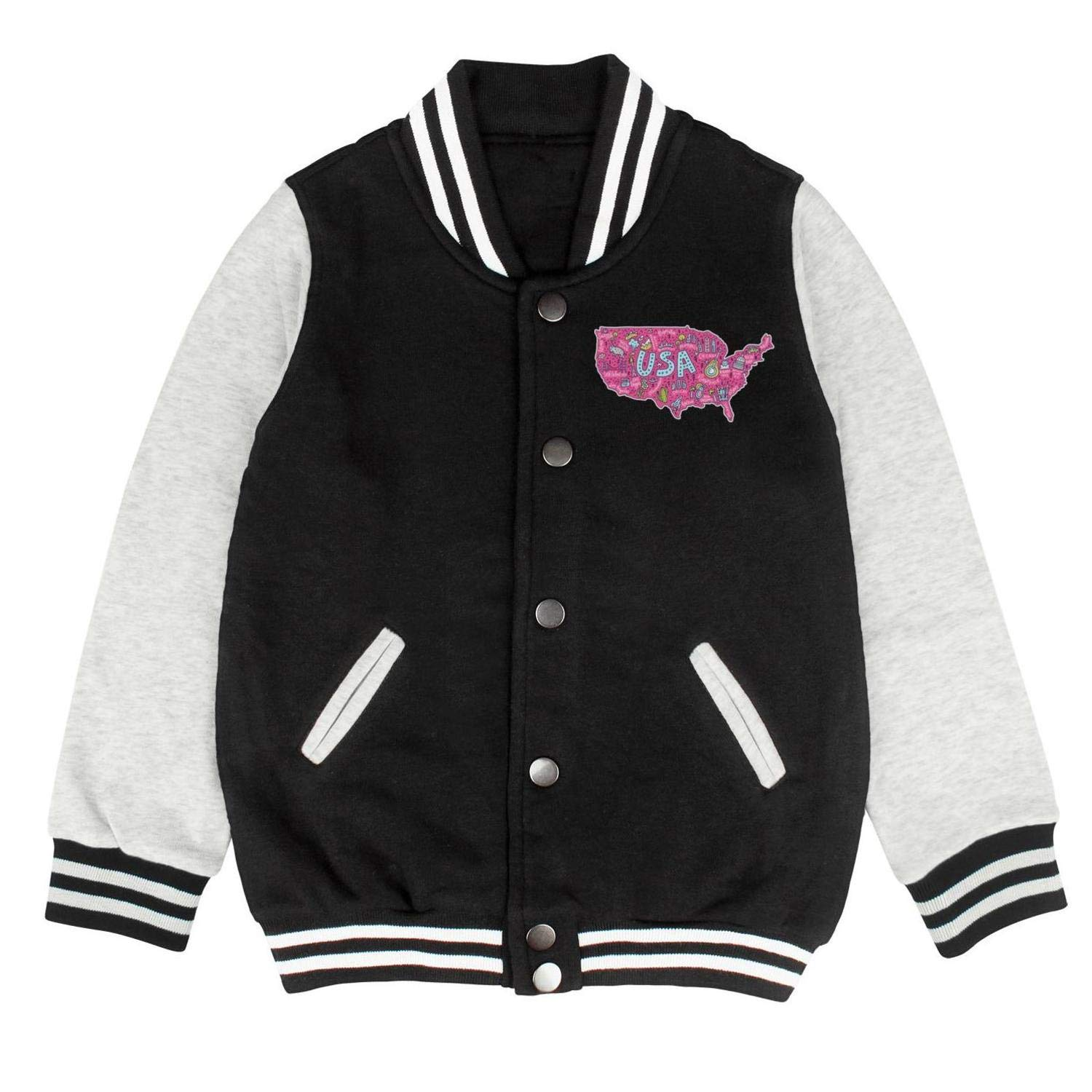I Love New York Mmoji Baseball Pullovers Unisex Cool Fall Jackets for Boys