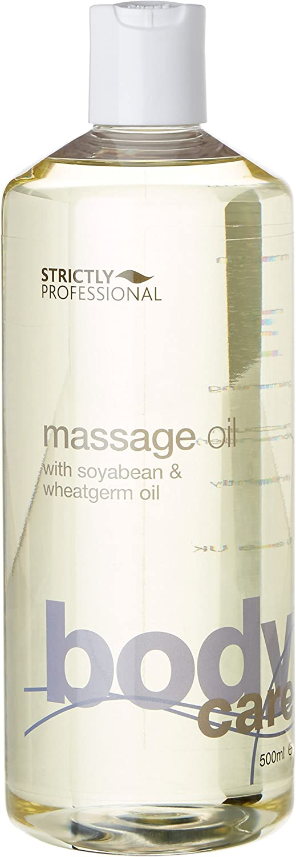 Strictly Professional - Aceite de masaje profesional con haba de soja y germen de trigo 500 ml