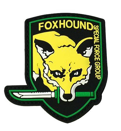 Metal Gear Solid 3D Foxhound Emblem Patch