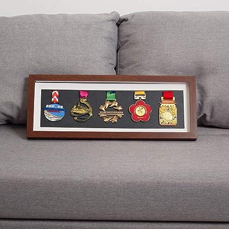 PLID Caja de medallas Exhibición de medallas Caja exhibición medallas Caja expositora para medallas y Insignias de Honor Marco de Fotos de Medalla Marco de exhibición de Almacenamiento de medallas: Amazon.es: Hogar