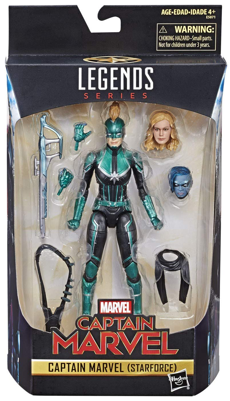 Marvel Legends Captain Marvel (STARFORCE) Exclusive 6 Inch Figure