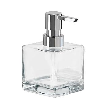 Amazon.Com: Oggi 8Oz Square Glass Lotion & Soap Dispenser For