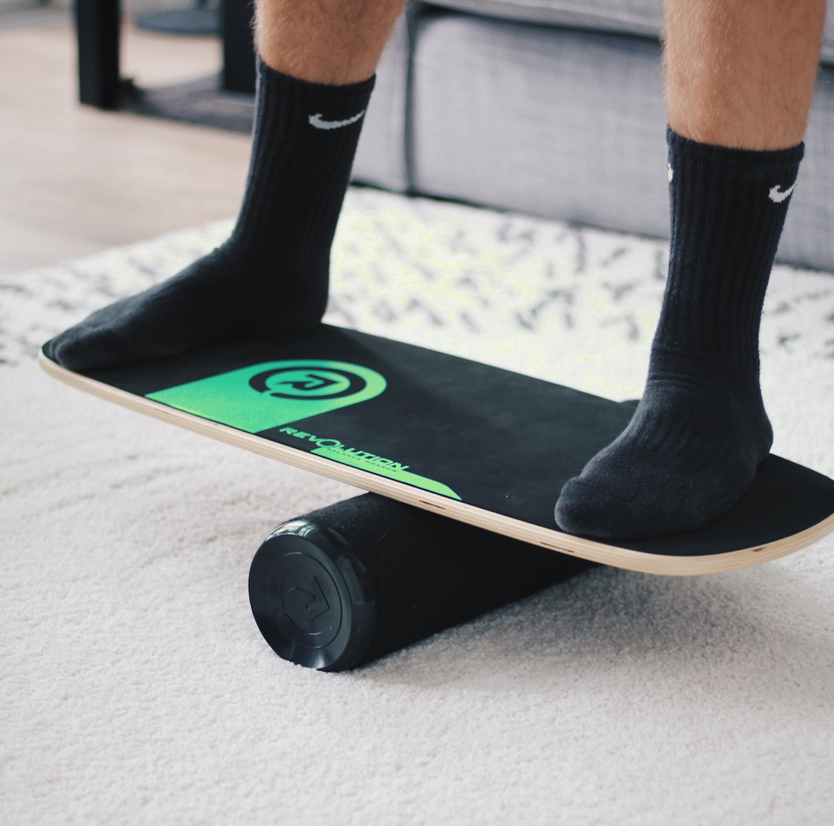 Revolution 101 Balance Board Trainer (Green) by Revolution Balance Boards (Image #5)