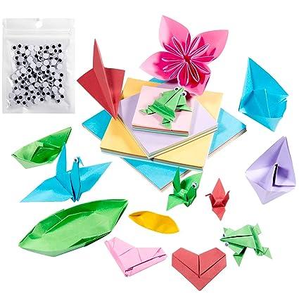 Origami Papel Comius 400 Pcs Papel Para Plegar Tradicional Japones