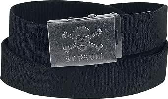FC St. Pauli Skull Unisex Cinturón Negro, 100% poliéster, : Amazon.es: Ropa y accesorios