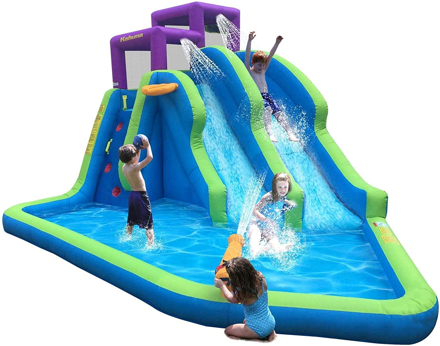 Top 11 Best Water Slide Pools Inflatable (2020 Reviews) 4