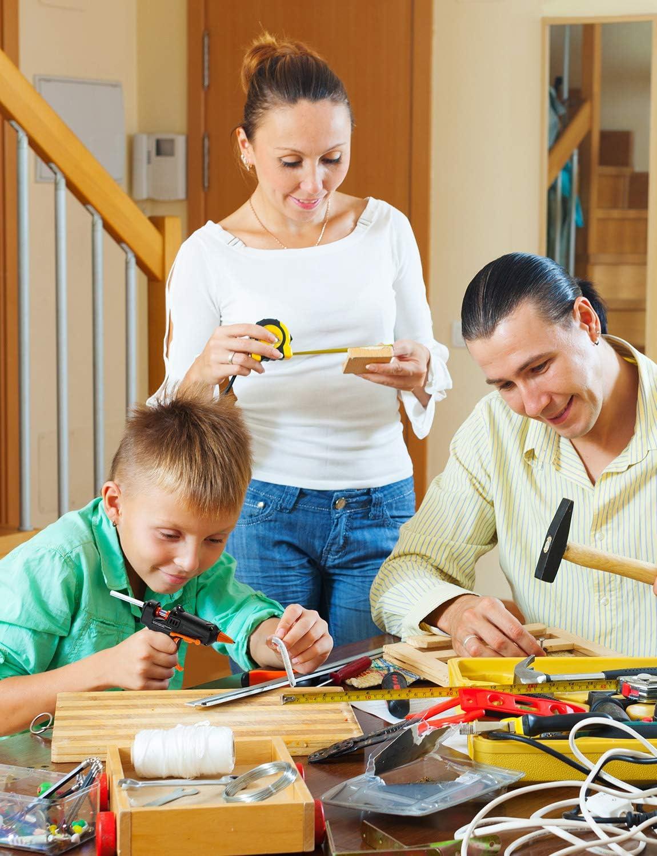 Schule 15W Mini Klebepistole mit USB-Kabel TOPELEK Hei/ßklebepistole Akku Kunst Zuhause Mini Klebepistole mit 10 St/ück Klebesticks f/ür das DIY-Basteln Schnelle Reparaturen B/üro