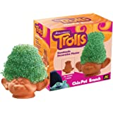 Chia Pet Branch, DreamWorks Trolls, Decorative Pottery Planter, Easy To Do and Fun To Grow, Novelty Gift, Perfect For Any Occasion (Contains Packets For 3 Plantings)