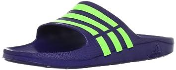 616cb8e64a2ada adidas - Sandals   Flip Flops - Duramo Slide - Night Blue - 18 ...