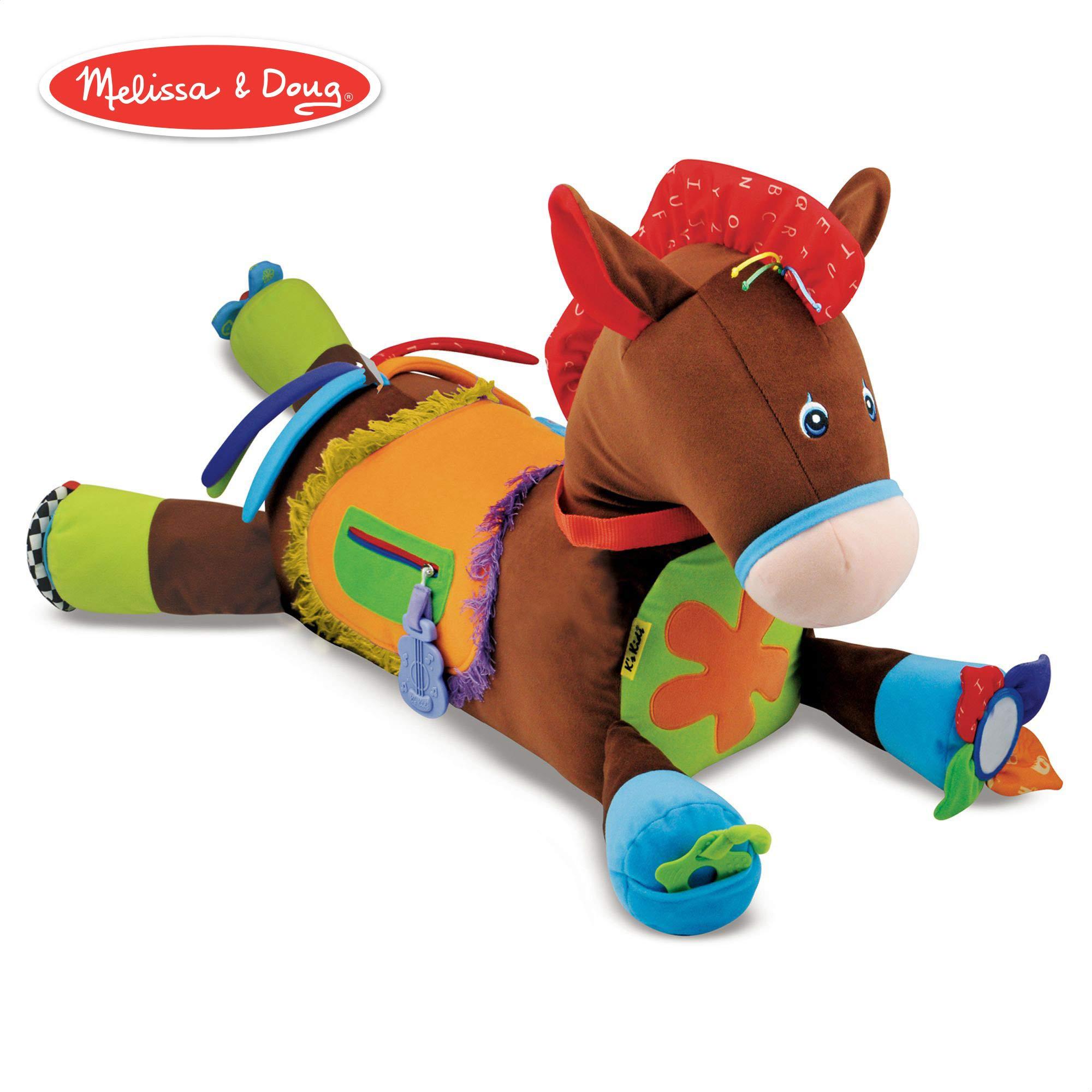 Melissa & Doug Giddy-Up & Play Baby Activity Toy (Multi-Sensory Horse)