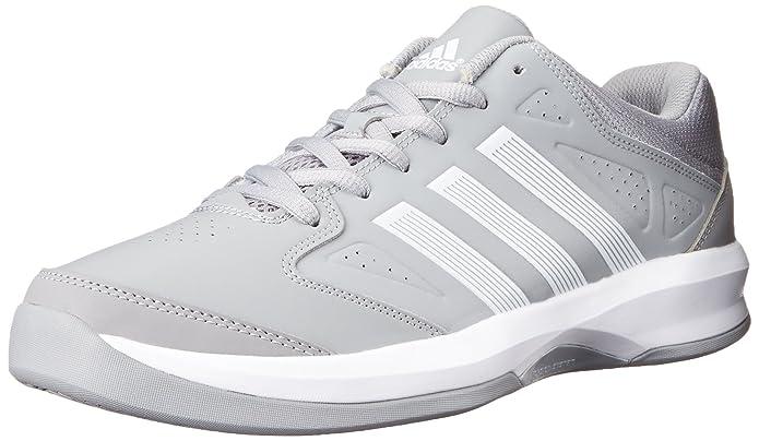 adidas performance uomini l 'isolamento di basket mid grigio scollato scarpa