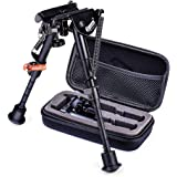 Zeadio 6 - 9 inches Extendable Tactical Bipod with Sling Mount