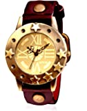 SPYN Golden Dial Casual Watches for women