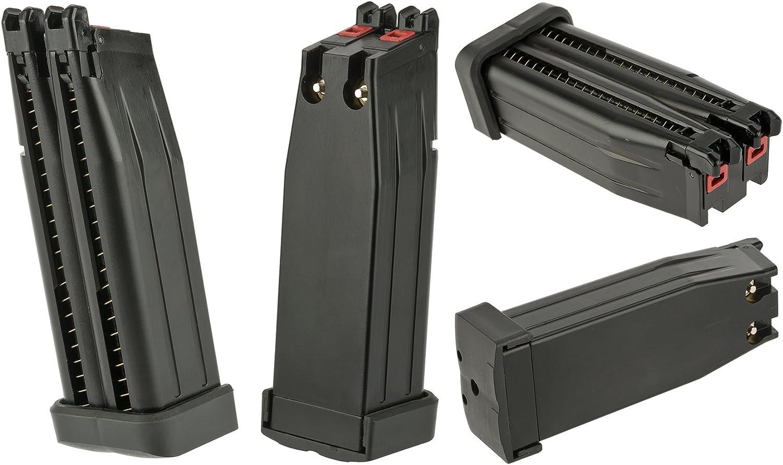 Amazon.com: Evike AW personalizado doble barril Hi-Capa Gas ...