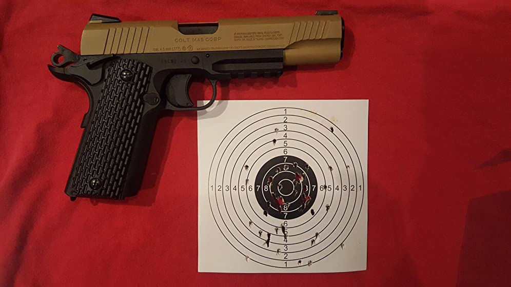 Colt M45 CQBP .177 Caliber Steel BB Airgun Pistol In love