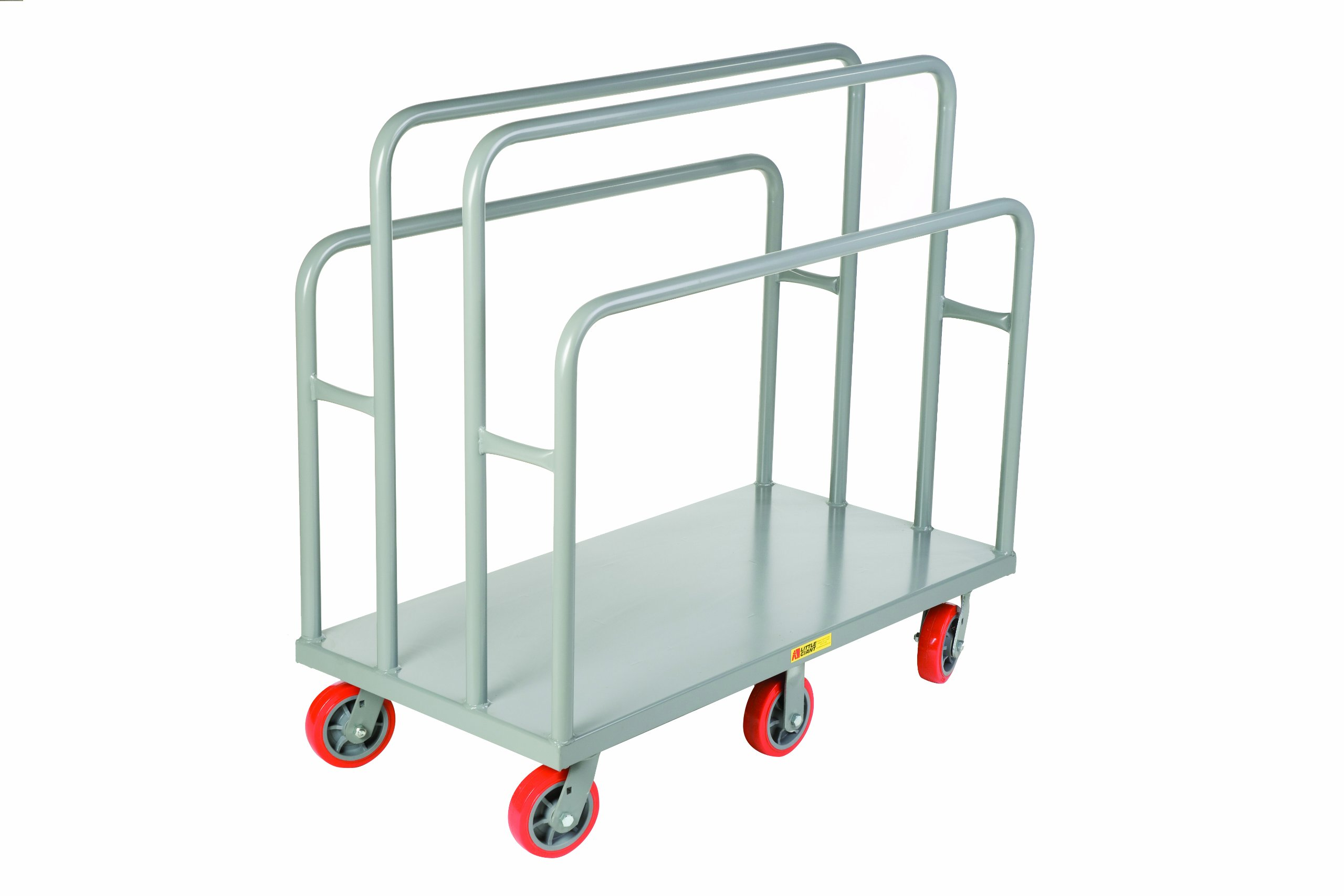Little Giant LC-3048-6PY Lumber and Panel Cart, 3600 lbs Capacity, 48'' Length x 30'' Width x 45'' Height
