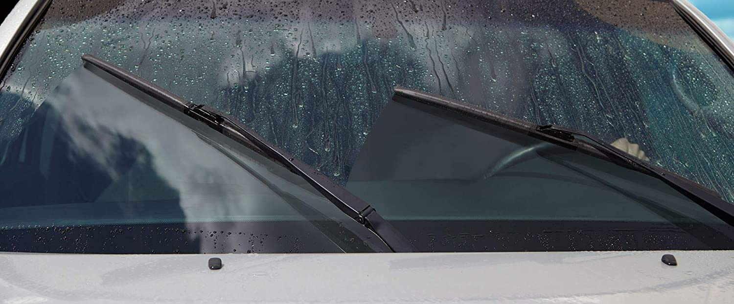 Quiet Performance Natural Rubber with Teflon Easy to Install All-Season Premium Quality Wiper Blade 26